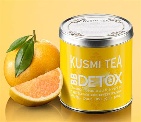 Kusmi Tea Detox Bb by Et Donc Kusmi Tea Lance Th 233 Bb D 233 Tox Mag