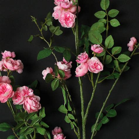 Artificial Shabby Roses artificial pink branch floral arrangement shabby