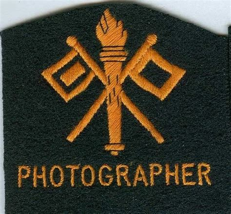 War Photographer Patches Acupat what badges would a war photographer worn in the us army during world war 2 world war ii