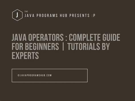 hollow diamond pattern in java java operators beginners guide with exles