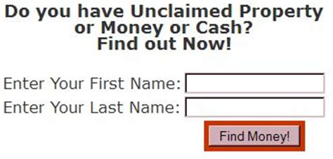 Unclaimed Assets Free Search Unclaimed Money Search Images Gallery