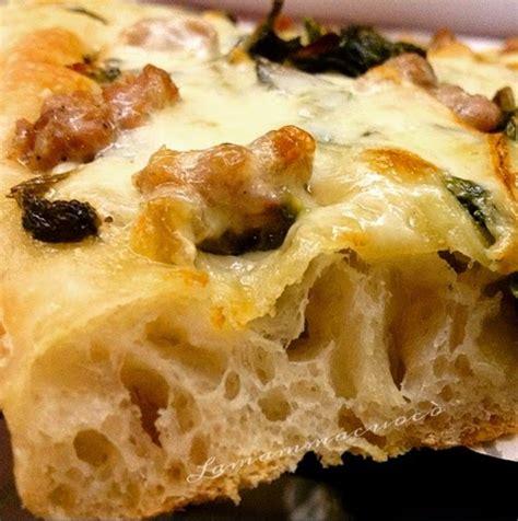 la pizza es alta la pizza in teglia ad alta idratazione e maturazione