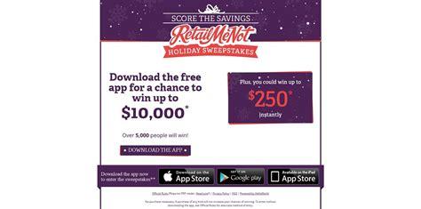 Retailmenot Sweepstakes - retailmenot score the savings holiday sweepstakes 250 000 in prizes