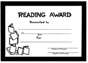 reading certificate templates certificates for teachers and language awards and