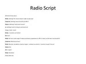 Radio Advertising Template by Radio Script