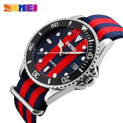 Skmei Casual Colorful Army Water Resistant 30m 2 skmei jam tangan analog pria 9133c black