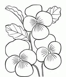 printable flower coloring pages flower coloring pages printable drawings