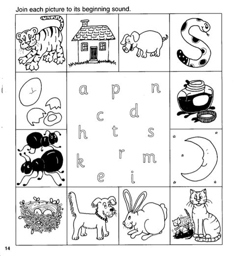 Jolly Phonics Worksheets For Kindergarten by Number Names Worksheets 187 Phonic Sheets Free Printable