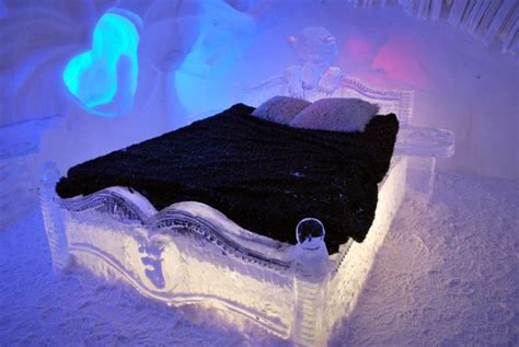 hotel de glace canada welcome to the first ice hotel in sweden strange sounds