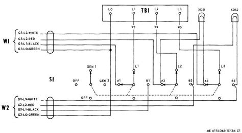 phase manual transfer switch wiring diagram wiring diagram