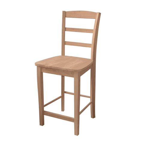 unfinished maple bar stools international concepts 30 in unfinished wood bar stool s