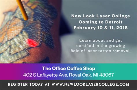 tattoo removal certification removal and education news new look