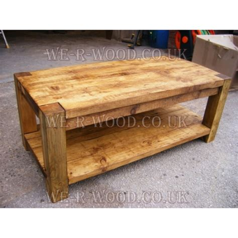 Table Post Oak by 4x4 Post Coffee Table