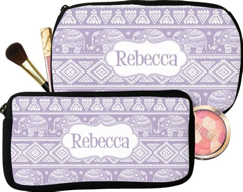 baby elephant makeup cosmetic bag personalized