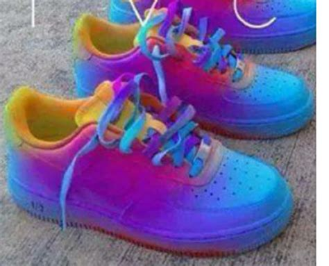 shoes colorful nike air 1 wheretoget