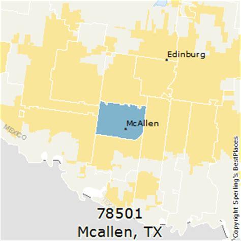 mcallen texas zip code map best places to live in mcallen zip 78501 texas