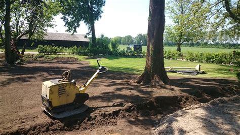 tuin boerderij bestrating boerderij ad hoveniers