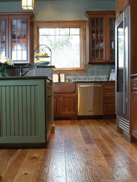 Wood Kitchen Floors 8 Flooring Trends To Try Interior Design Styles And Color Schemes For Home Decorating Hgtv