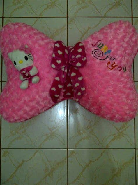 Bantal Panda Tidur Boneka Bandung Pink aneka boneka bantal pita pink 70rb