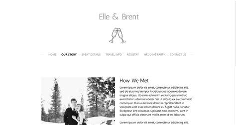 Wedding Websites Exles by Personal Wedding Website Exles Wedding Ideas 2018