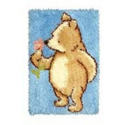 Classic Pooh Rug by Classic Pooh Rug Latch Hook Anchor Dppc900