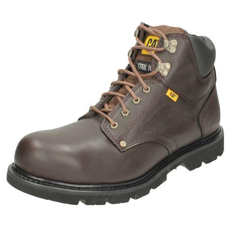 Rral Pic Ld Sandal Sepatu Safety Boots Caterpillar Suede Murah mens caterpillar steel toe cap ankle boots grouser st ebay