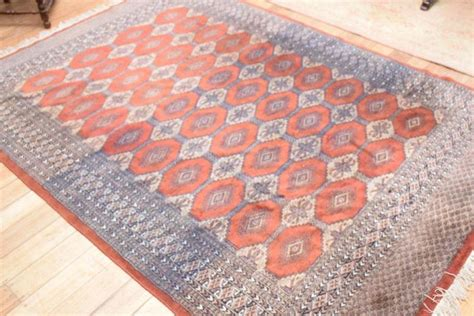 Elephant Foot Rug Design by A Elephant Foot Pattern Rug In Rust Tones 255cm X 18