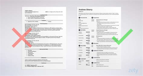 formats for resumes jospar