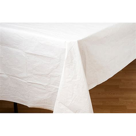 paper table cloths paper table cover white walmart