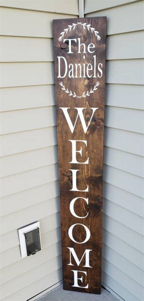 family  sign front door  sign