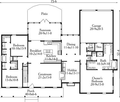 House Plans With Garage In Back | garage in back or front 62080v 1st floor master suite
