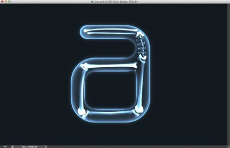 photoshop cs6 xray tutorial easy x ray typography in photoshop