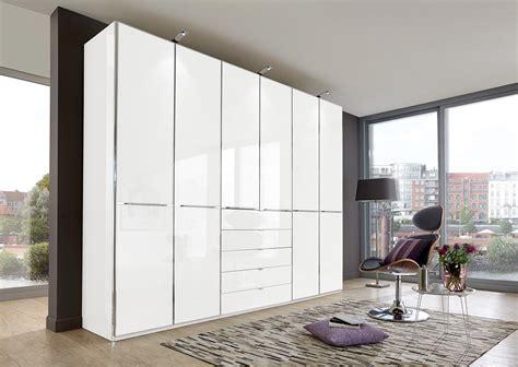kleiderschrank weiß hochglanz mit spiegel kleiderschrank in alpinwei 223 glasfront in wei 223 und
