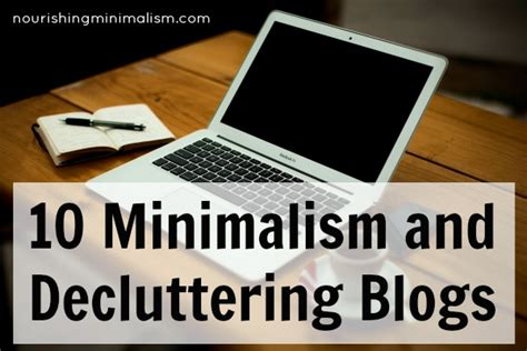 minimalism your declutter journey starts here books 10 minimalism and decluttering blogs nourishing minimalism