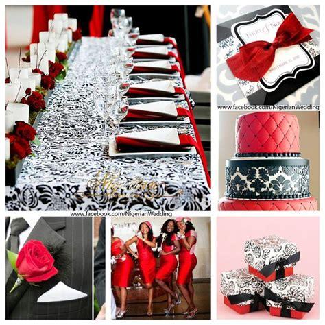 white and black damask wedding theme weddings black white and