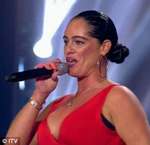 Getting To Dean Factor by X Factor S Scherzinger Brings Back Talia Dean