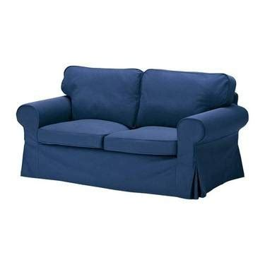 Ikea Sofa Pillows Ikea Ektorp Loveseat Sofa Slipcover Replacement Idemo Blue And Pillows For Sale In Langhorne