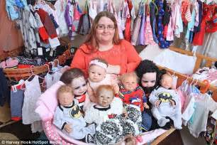 Toddler Bed Sale Uk Kerrie Williams Spends 163 20k On Reborn Dolls But Refuses