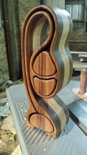 band  box rustic wood box wood jewelry box