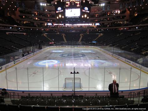 Nys Section 2 by Square Garden Section 112 New York Rangers