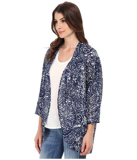H M Original Kimono Sleep Ware 1 dkny bandana batik print kimono in blue lyst