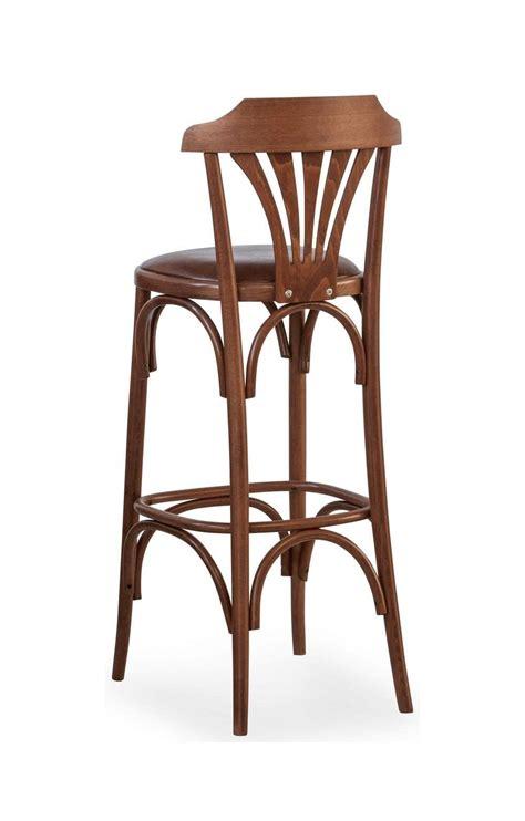 sgabelli in legno per pub b05 sgabello in legno curvato seduta imbottita per bar