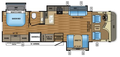 class a rv floor plans 2017 precept class a motorhome floorplans prices jayco