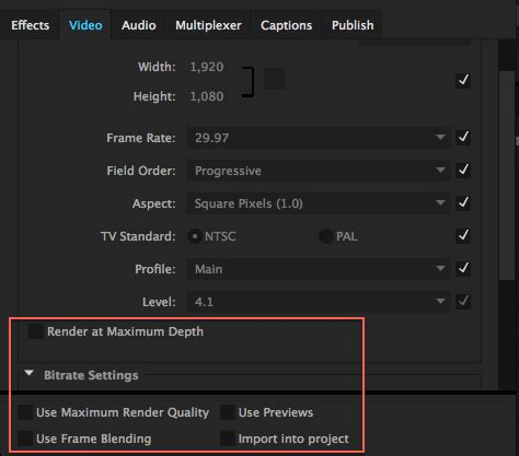 export adobe premiere best quality understanding render options in adobe premiere pro