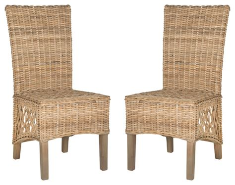 Tropical Dining Chairs Sumatra Side Chairs Set Of 2 Tropical Dining Chairs By Hedgeapple