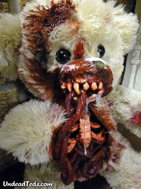 undead teds zombified teddy bears joes daily