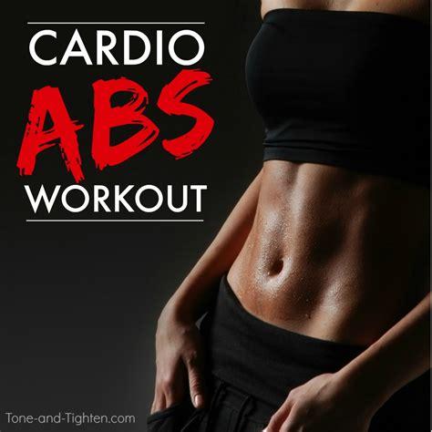 cardio abs workout at home tone tighten