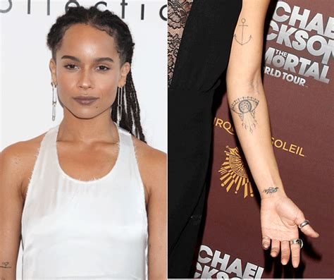 10 Hip And Zoe Kravitz Looks by Zoe Kravitz Tattoos Collections