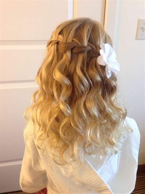 fancy kid hair 25 best ideas about kids wedding hairstyles on pinterest