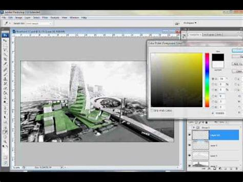 tutorial photoshop render sketchup to photoshop quick rendering tutorial youtube